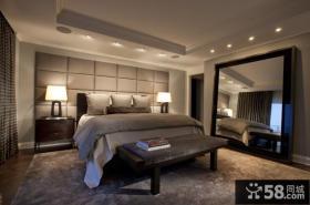 130㎡三室两厅卧室装修效果图大全2014图片