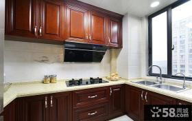 复古欧式厨房设计案例