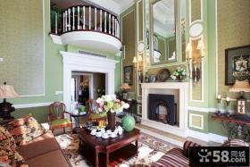 最新别墅客厅装修效果图大全2013图片