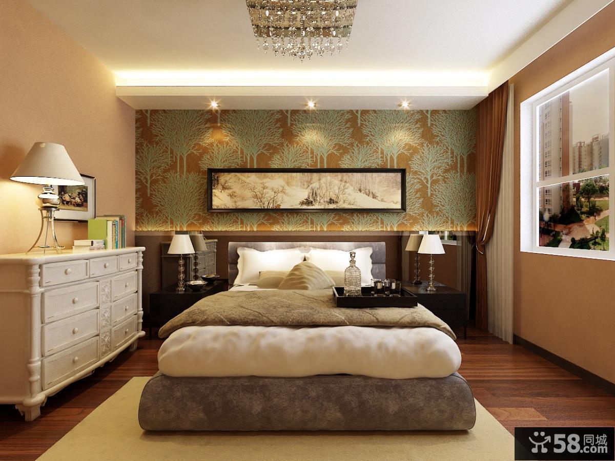 世纪城复式卧室装修效果图大全2012图片