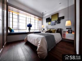 简欧家庭设计室内卧室图片大全