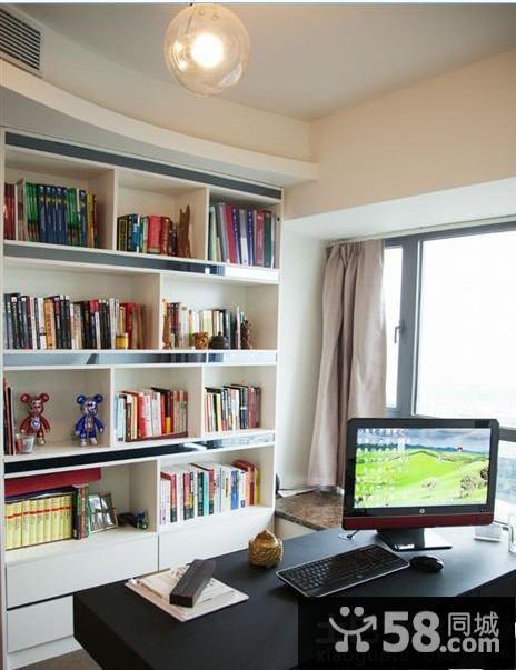 书房榻榻米床效果图