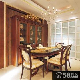 古典美式餐厅装修展示