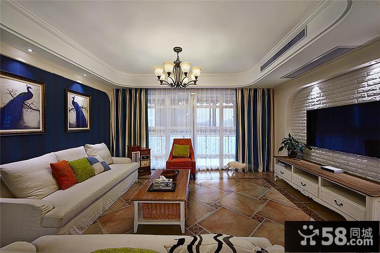 小户型客厅中式装修