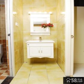 卫生间隔断墙装修设计效果图