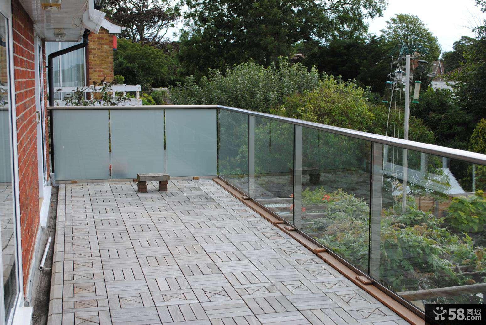 家庭阳台设计效果图