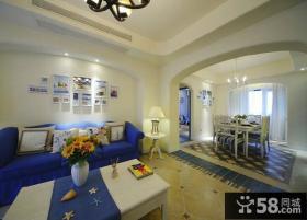 地中海风格家居两居室装修