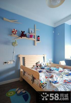 简约型儿童房装修效果图大全2013图片