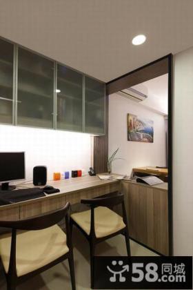 65平米现代简约公寓室内装修图片