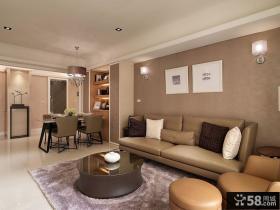 现代风格一居室家居效果图