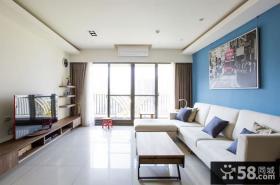 现代日式风格四居室效果图2015