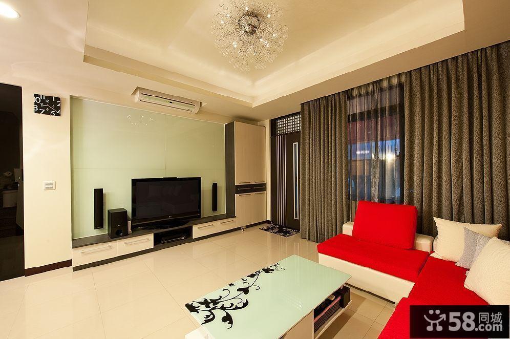 客厅中式简约装修