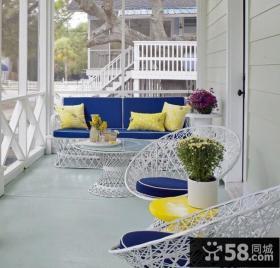 2013最新现代小阳台设计效果图欣赏