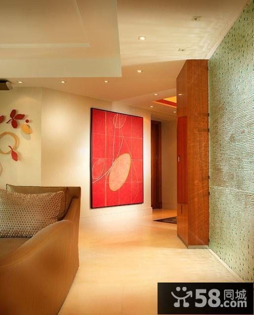 客厅装饰画 油画