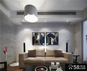 创意宜家风格客厅装修效果图片