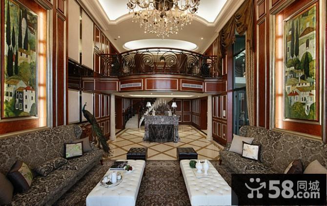 欧式餐厅装修设计效果图
