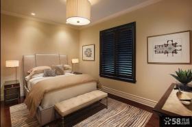 简约别墅卧室装饰效果图片