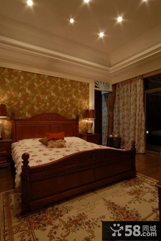 现代欧式卧室装修效果图