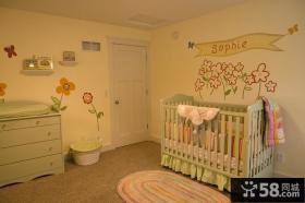 朴实的现代风格装修儿童房图片