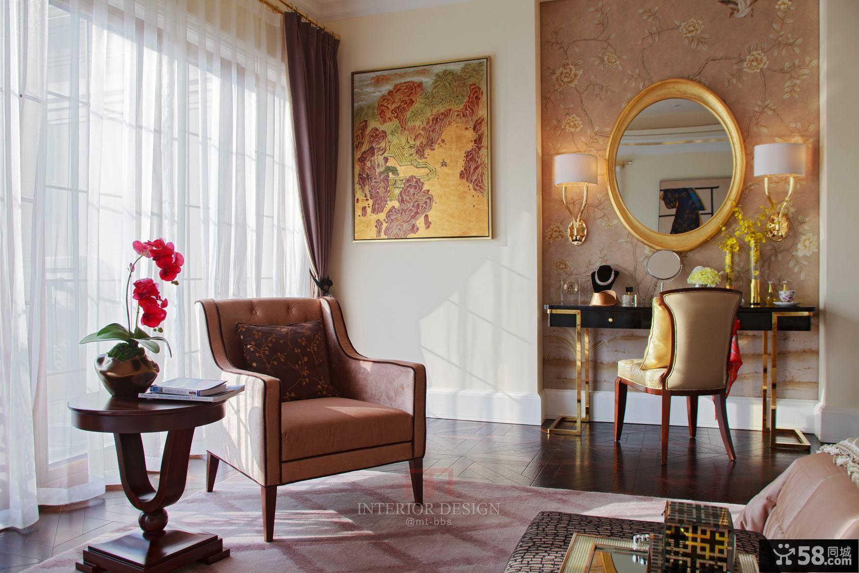 美式室内窗帘欣赏