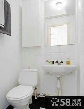 极简设计室内卫生间效果图大全