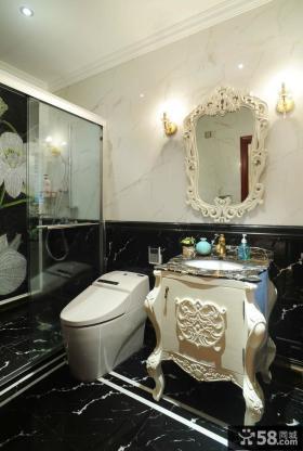 欧式风格卫生间装修效果图片欣赏
