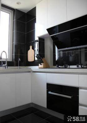 现代简约厨房家居装饰效果图