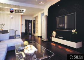 最新现代客厅电视背景墙效果图片