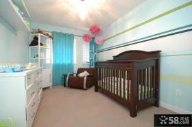 儿童房装修效果图大全2012图片 田园风格儿童房装修效果图