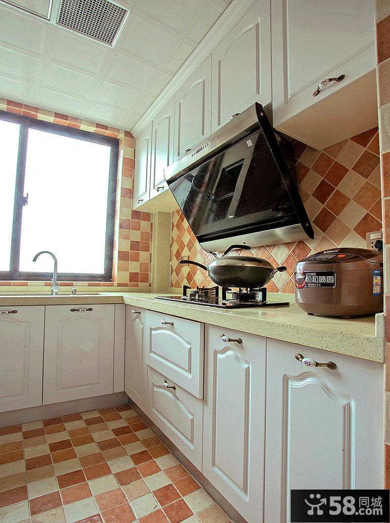 欧式厨房装修效果图大全2016图片