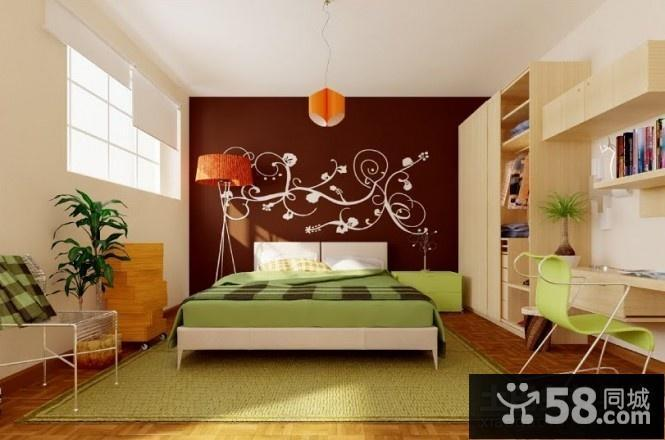 卧室飘窗的装饰
