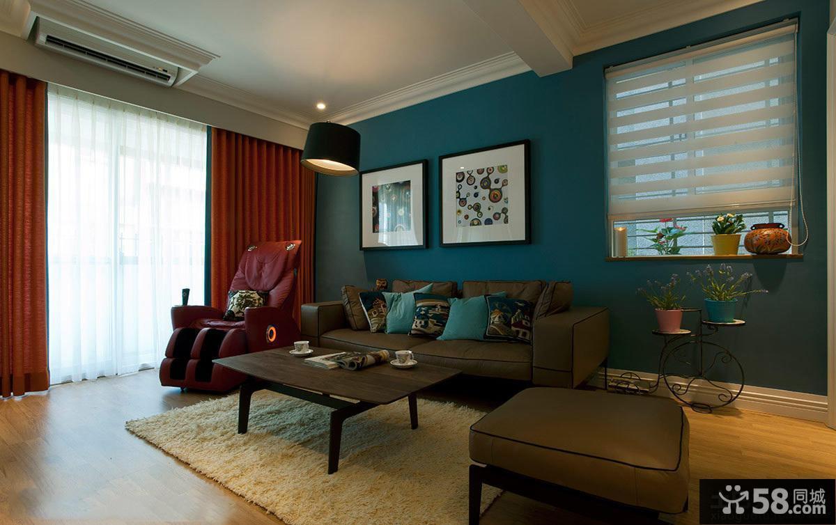 美式装修设计客厅效果图大全