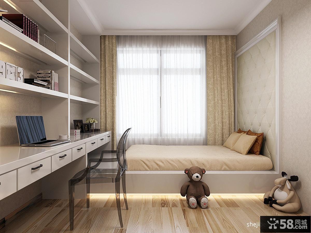儿童房卧室榻榻米装修效果图大全2013图片