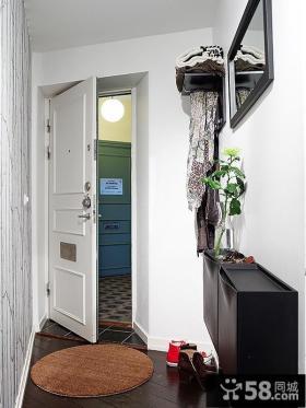 55平方米小户型进门玄关装修效果图大全2013图片