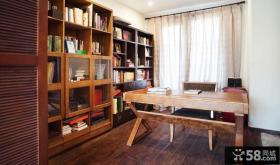 中式书房装潢设计图