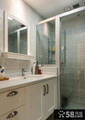 美式简约卫生间设计效果图欣赏