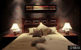 2014卧室床头装饰效果图