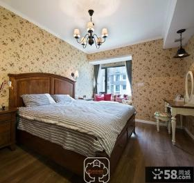 美式风格时尚卧室设计图