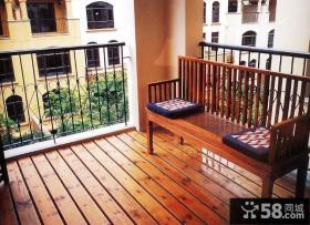 2013最新卧室阳台装修效果图片
