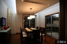 二居室餐厅吊顶装修效果图片