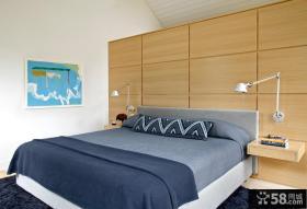 简约日式风格时尚小卧室效果图