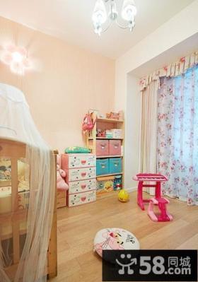 家居儿童房布置效果图片欣赏