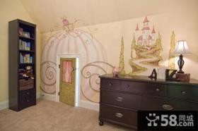 三室两厅欧式风格玄关装修效果图大全2012图片