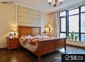 美式主卧室装修设计图