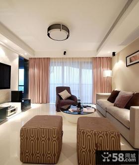 简约设计10平米客厅图片