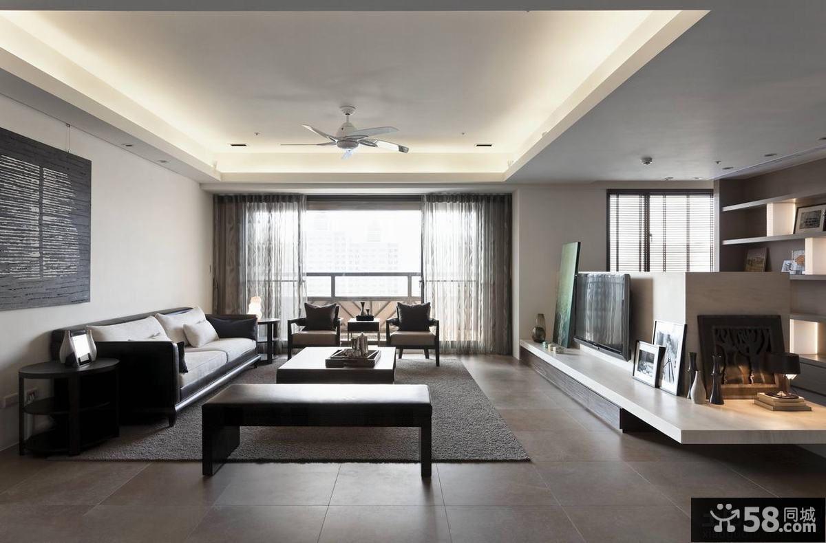 现代日式装修客厅图片欣赏大全