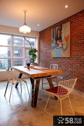 两室两居餐厅设计图片