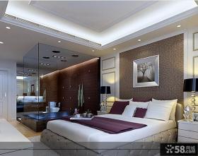 主卧室带卫生间装修效果图大全2013图片