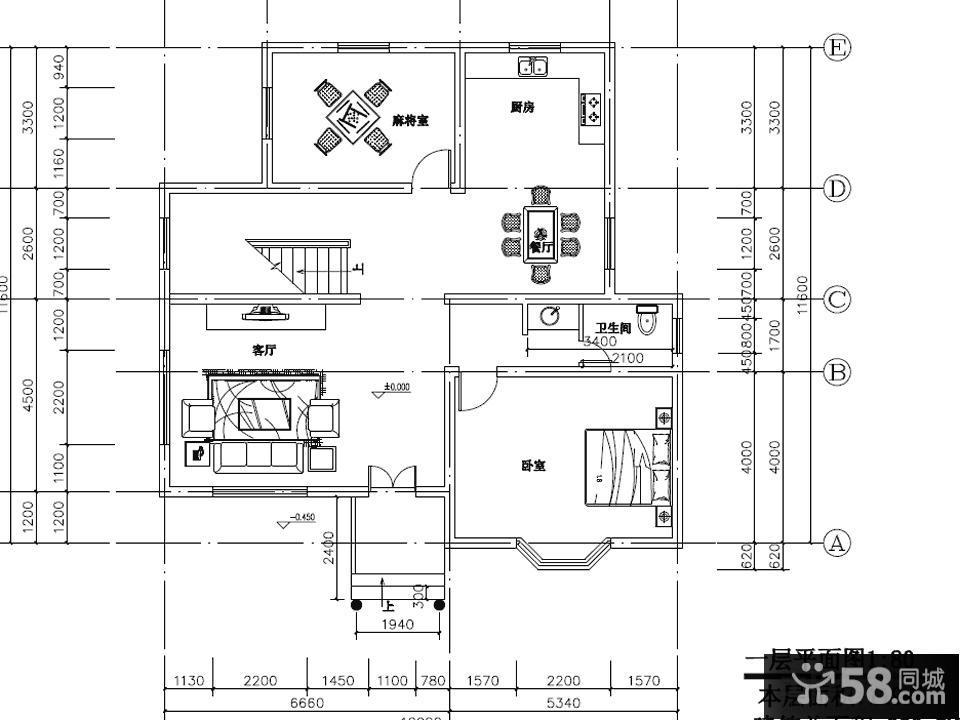 新农村住宅户型图