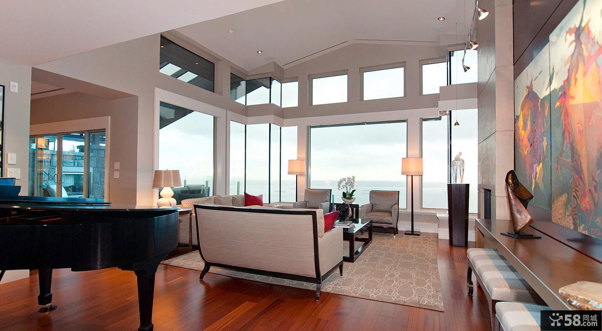 别墅客厅设计效果图片欣赏